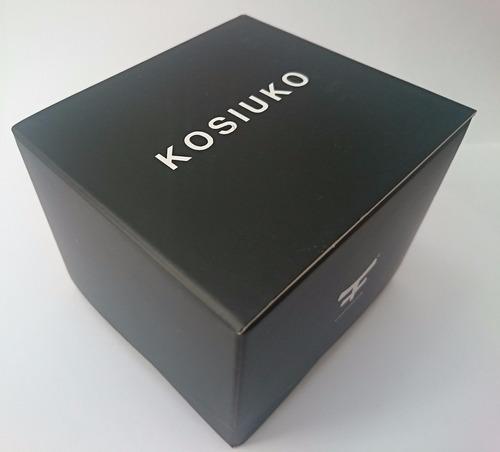 35% off - reloj calendario kosiuko full blooded 803 dorado