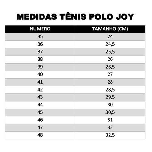 63c8c83e9f 35% Off - Sapatenis Tenis Sapatilha Polo Iate Masculino Joy! - R  59 ...