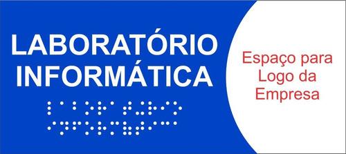 35 pçs placa sinalização de ambiente em braille