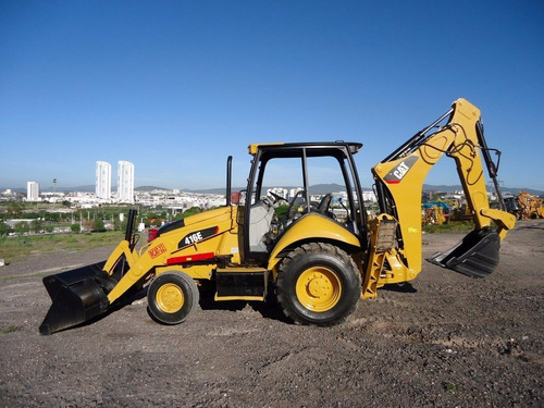 35) retroexcavadora 416 e caterpillar c/kit p/martilllo 2009