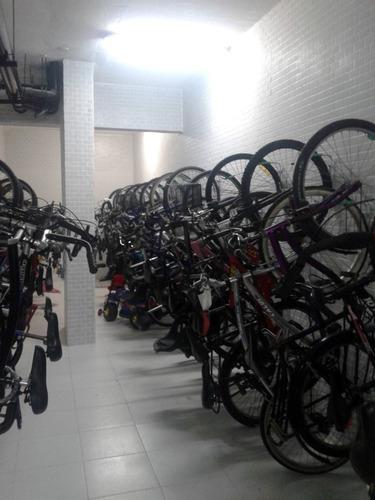 35 suportes verticais de parede para bike - bicicleta