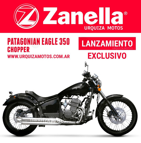 350 chopper motos zanella patagonian eagle