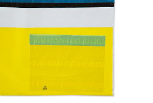 350 envelopes plásticos segurança mercado livre p 30x20cm