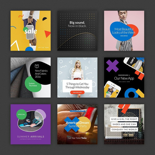 350 plantillas diseño de posts para facebook para tu negocio