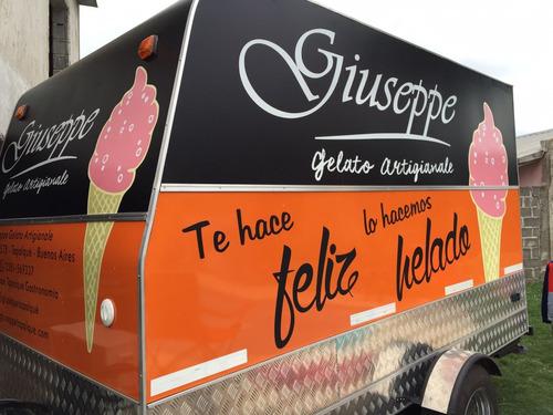 350 trailer gastronómico de lujo nuevo  fabrica food truck