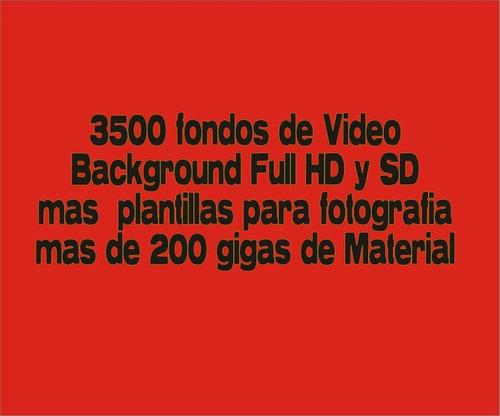 3500 fondos de video background y plantillas full hd y sd