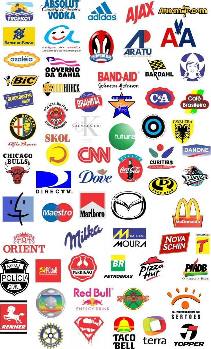 50972b0f0 3500 Logos Vetor De Marcas Famosas - R$ 18,98 em Mercado Livre