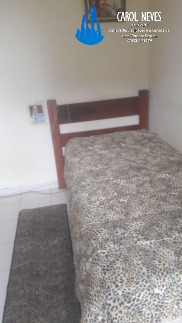3536- apartamento 1 dormitório de frente para o mar mongaguá
