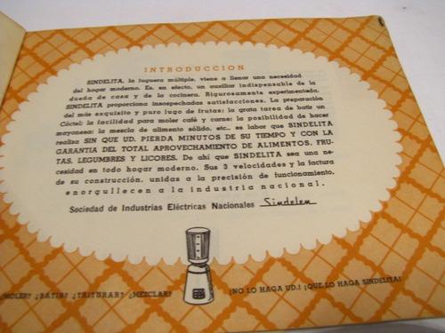 355 recetas sindelita 1970