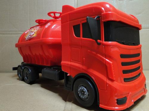 35cm caminhão volkswagem bombeiro bomba dagua joga agua
