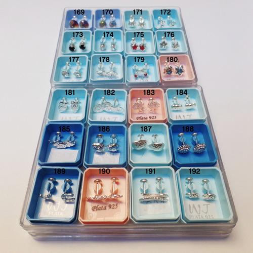 36 aros abridores de plata 925 ideal revendedores xmayor