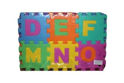 36 bloques puzzle mat aprendizaje abc alfabeto estudio niños