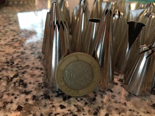 36 duyas grandes numeradas de calidad acero inoxidable y 1 c