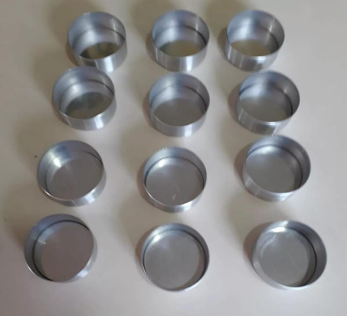 61a8e32c97 36 Formas Para Pao De Mel Fundo Falso Em Aluminio Nº 1 - R  89