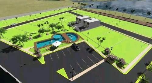 36 lotes residenciales de 300m² cada uno aproximadamente