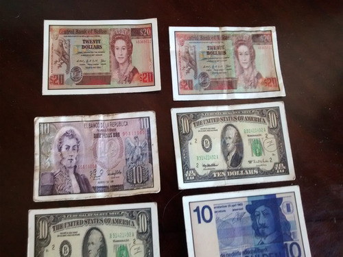 36 -mini billetes de coleccion  evercrip (carp20