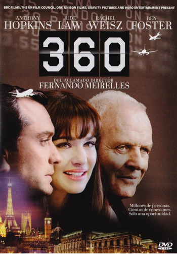 360 anthony hopkins jude law ben foster pelicula dvd