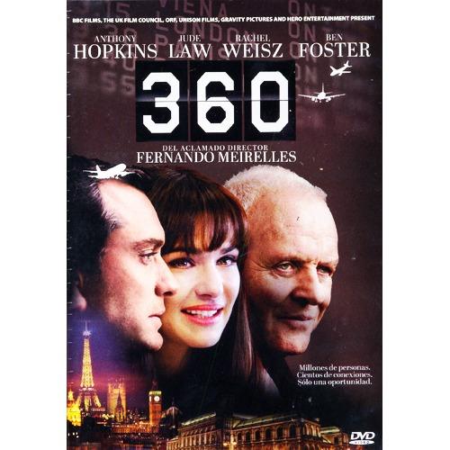 360 anthony hopkins jude law ben foster pelicula en dvd