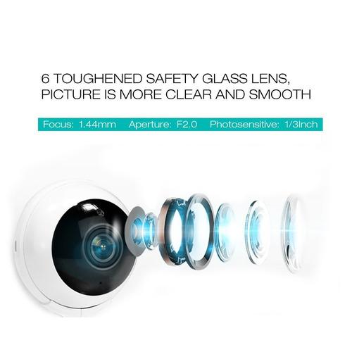 360 cámarasistema inalámbrico cámara ip smart home día noche