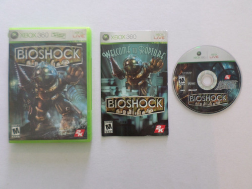 360 juego bioshock xbox