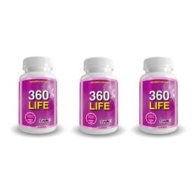 360 Life X3 Quemador De Grasa - Dieta Efectiva 180 Capsulas