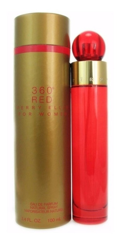 360° red women de perry ellis eau de parfum 100 ml