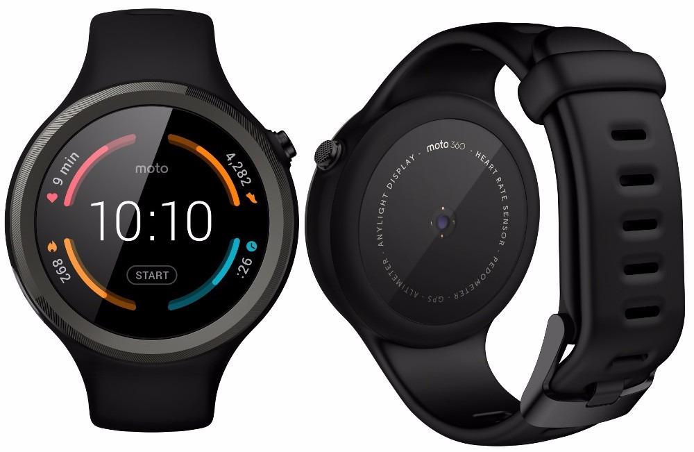 Motorola Moto 360 Sport Smartwatch Android Wear Negro ...