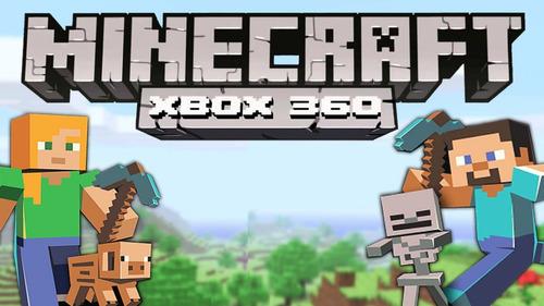 360 xbox 360 jogo minecraft xbox