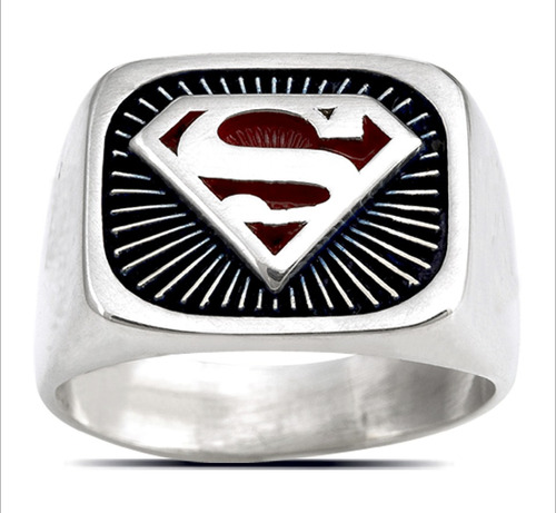 3603 dc comics originals anillo superman rayos
