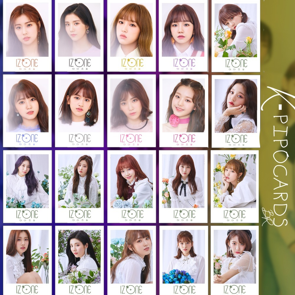 36/32 Izone Photocards Polaroid Kpop