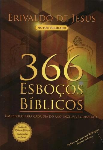 366 esboços bíblicos  livro   erivaldo de jesus