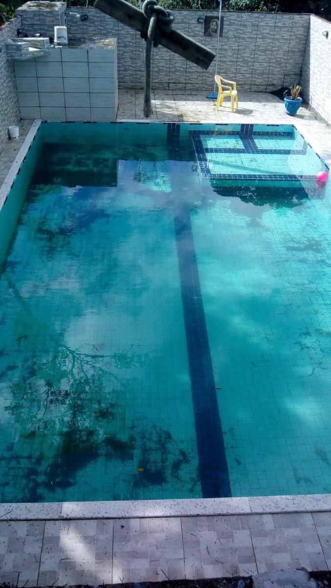 3668 - chácara com piscina apenas 127 mil