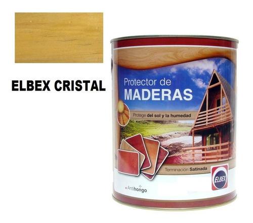 3,6l protector para madera interior exterior elbex colores !