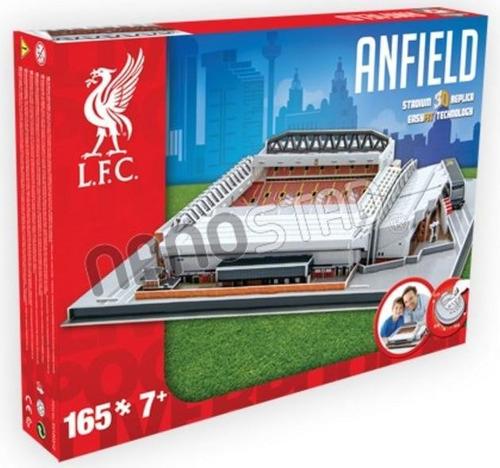 3715 estadio 3d anfield liverpool fc 165 piezas nanostad
