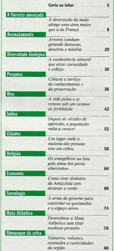 372 rvt- revista 1997- veja 1527- 24 dez amazônia um tesouro