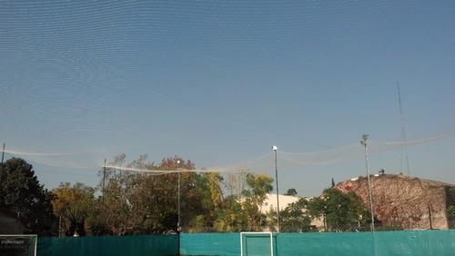 375 m2 de redes de contencion para canchas de futbol