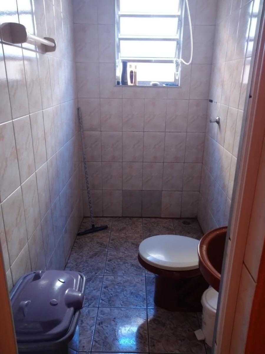 3791-casa 2 dormitórios quintal amplo churrasqueira mongaguá