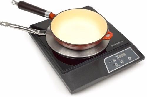 38 d lares 2 adaptadores para cocinas de inducci n u s for Cocina induccion precio