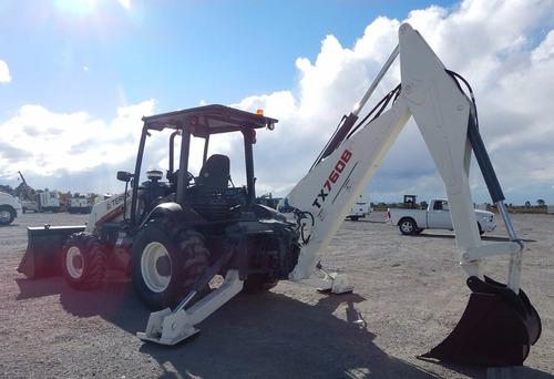 38) retroexcavadora terex 760b 4x4 2009 con kit hidraulico