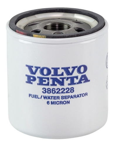 3862228 filtro comb. gasolina volvo penta v6 v8 4.3 5.0 5.7