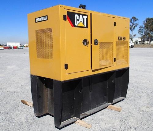 39) generador de electricidad 60 kw caterpillar