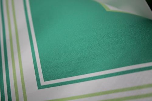 39. papel adhesivo tapiz pared rayao zig zag verde 45cmx1mt