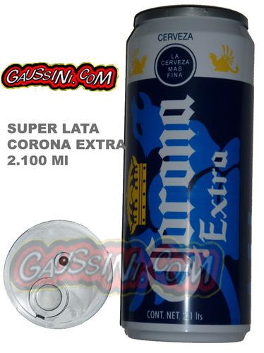 $39 super lata 2 lts vacia micheladas contenedor botellon