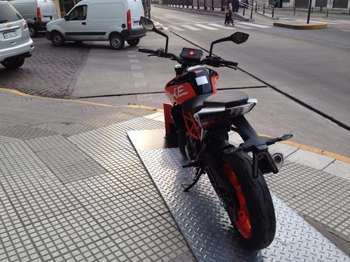 390 2018 financiada a tasa 0% solo en gs motorcycle devoto
