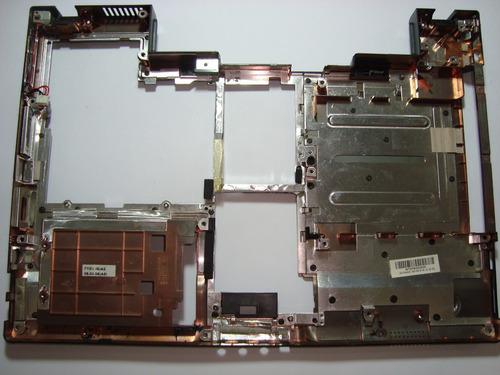 3927 - carcaça base chassis e dc jack semp toshiba is 1556
