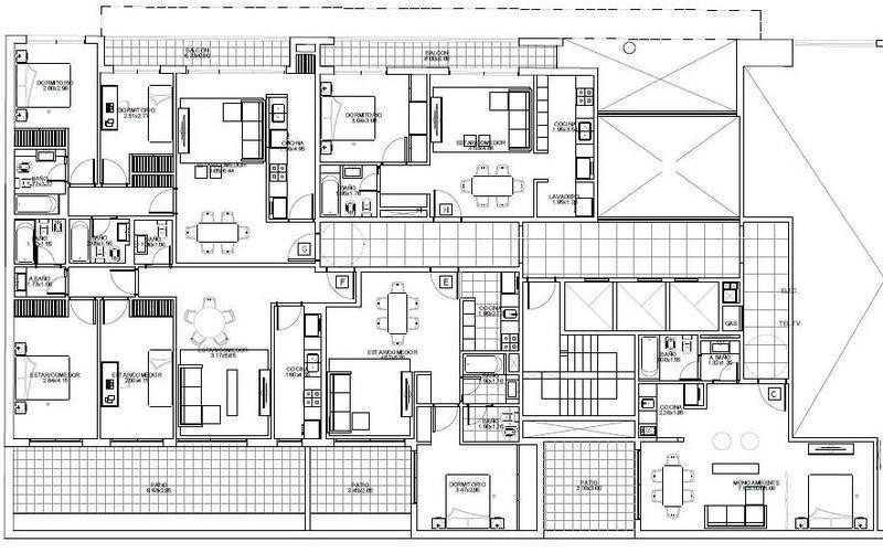 3amb c/ patio - tronador 3900 - amenities - julio 2020