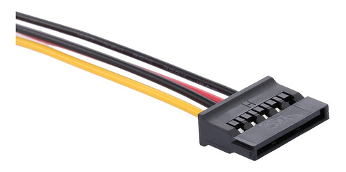 3*cable de alimentación sata cable de alimentación de disco