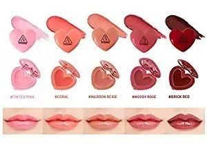 3ce heart pot lip - brillo labial