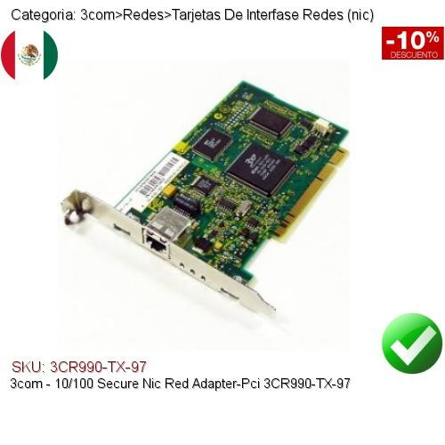 3COM 10100 SECURE NIC 3CR990-TX-97 DRIVERS FOR WINDOWS 7