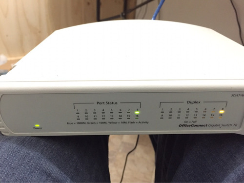 3com officeconnect gigabit switch 16